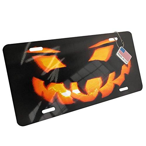NEONBLOND Metal License Plate Halloween