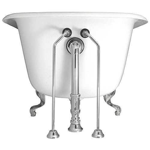 Elizabethan Classics ECDOSLCP Model DOSL Double Offset Bath Supplies, Chrome ()
