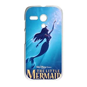 Durable Rubber Cases Motorola Moto G Cell Phone Case White Qujiw The Little Mermaid Protection Cover