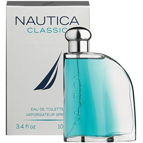 Nautica Classic for Men by Nautica 3.4 oz 100ml EDT Spray Cologne Spray Men Fragrance