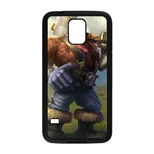 Samsung Galaxy S5 Cell Phone Case Black League of Legends Hextech Sion UN7362483