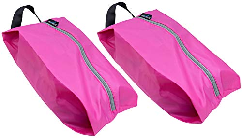 - TRAVANDO Shoe Bag Set of 2 | Travel Accessories Essentials Travel Organizers Packing Cubes Suitcase Luggage Bags for Shoes