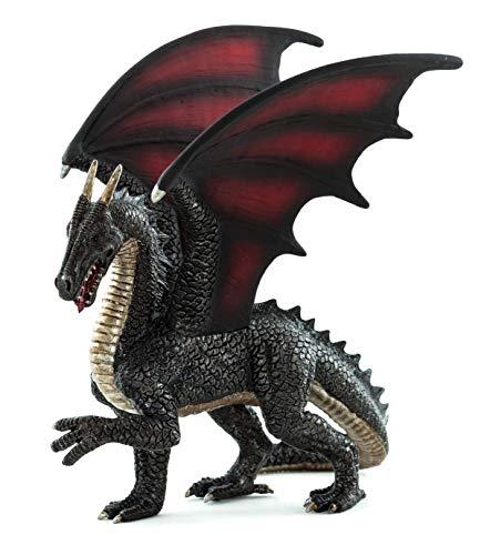 MOJO Steel Dragon Toy Figure]()