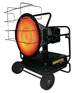 125,000 BTU Kerosene Fired Radiant Heater