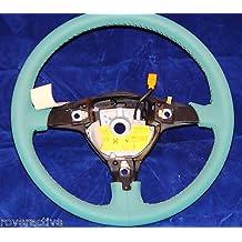 BMW Genuine E36 Green Sport Leather Steering Wheel NEW