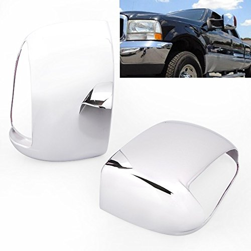 Brand New Chrome Side Door Tow Mirror Cover w/Signal Cutout For Ford Super Duty 1999-2007 / Excursion 2000-2005