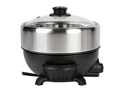 TRMC-40 Shabu and Grill Multi-Cooker, 4 quart, Black by TAYAMA (Image #2)