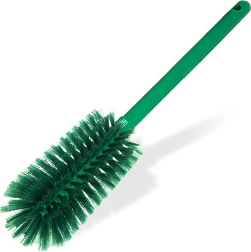 - Carlisle 40001C09 Commercial Bottle Brush, Polyester Bristles, 16