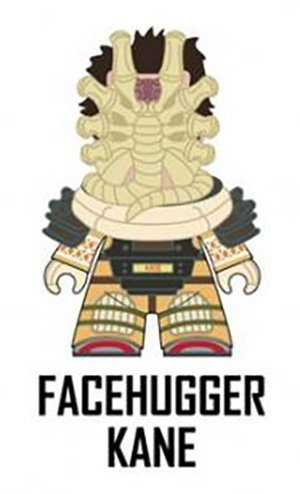 """Titans Alien 'The Nostromo Collection' 3"""" Vinyl Figure - FACEHUGGER KANE (2/20 Rarity) ~ Opened to Identify"""