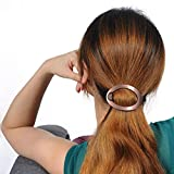 4 Pcs Oval Comfort Flex Hair Clips Hairpins No