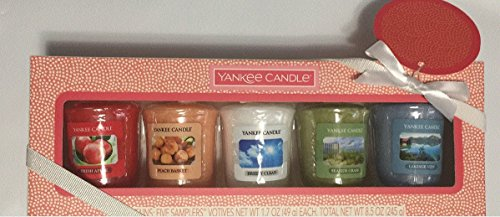 Yankee Candle New Spring Fragrances Five Votive Samplers Gift Set by Yankee Candle