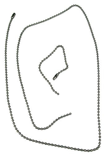 Dog Tag Chain Set - Silver - Quantity 1,000 by BC