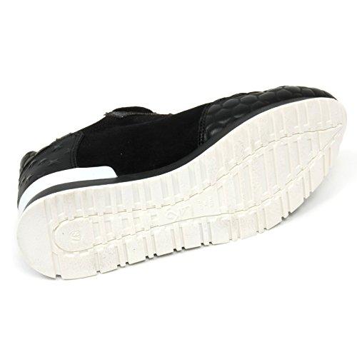 Mr Scarpa Donna Woman Shoe L4k3 Big B9316 Sneaker Nero tZqwFF
