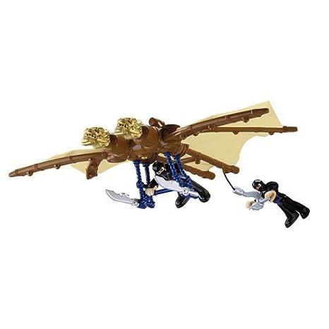 Amazon com: Fisher Price Imaginext Ninja Glider: Toys & Games