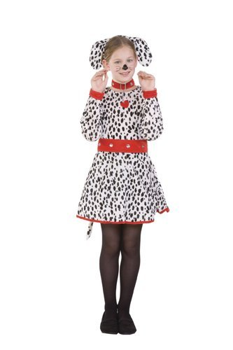 RG Costumes Dalmatian Costume, Child Medium/Size 8-10 ()