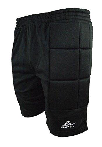 Goalkeeping Short - Eletto Simple 2 GK Goalkeeper Shorts (Youth X-Large, Black)