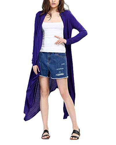 Cardigan Donna Autunno Elegante Moda Maglioni Lunghi Monocromo Mode di marca Manica Lunga Giacca A Maglia Baggy Irregular Tempo Libero Di Alta Qualit