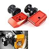 Xitomer Grom Swing Arm Spools, for HONDA GROM MSX125 2013 2014 2015 2016 2017 2018 2019 2020, Swing Arm Sliders Stand Bobbins (Red)