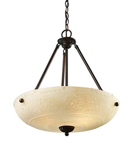 Large Circular Pendant Light - 2