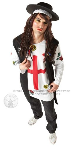 Rubie's X-Large or Standard Boy George Costume