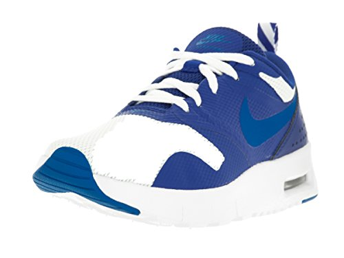 Nike Kids Air Max Tavas (PS) White/Photo Blue/Game Royal Running Shoe 12 Kids US