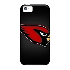 New Fashionable L.M.CASE IuB3713ivob Cover Case Specially Made For Iphone 5c(arizona Cardinals)