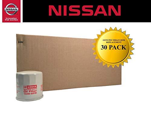 Genuine Nissan OEM Oil Filter 15208-65F0E (Case of 30)