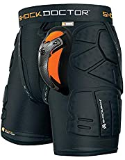Shock Doctor Shockskin Lax Relaxed Fit Impact Short (Black)