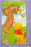 Disney Winnie The Poo Kids Room Wall Sticker Growth Height Chart (Canada)
