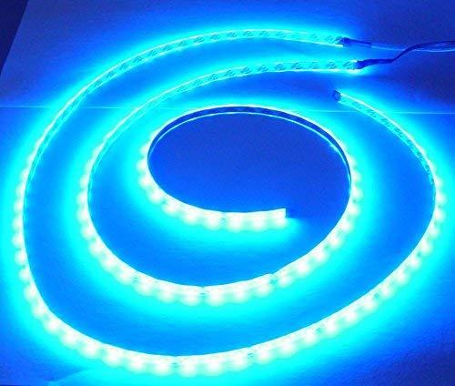 2 x 100 cm Luna Luz Tira de ledes, LED Azul, 2 Flex rayas total 200 cm, 120 SMD: Amazon.es: Iluminación