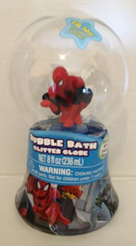 Bubble Bath Spider-Man Glitter Globe