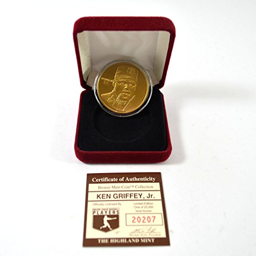 Highland Mint Ken Griffey Jr. Bronze Coin # out of 25,000 (Highland Mint Coins)