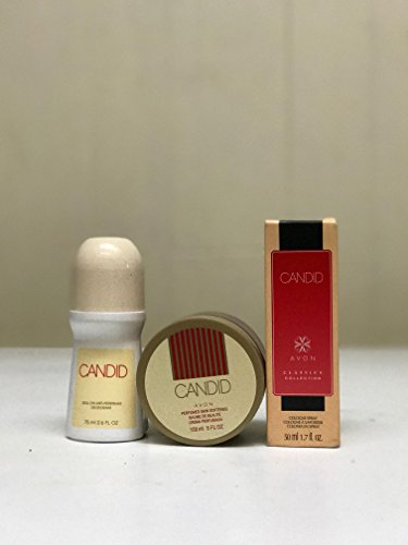 Avon Candid Roll-On, Cologne Spray, and Perfumed Skin Softener (Avon Cologne Candid Spray)