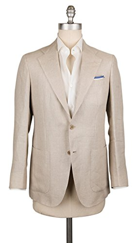 Kiton New Cream Sportcoat (Silk Cream Blazer)