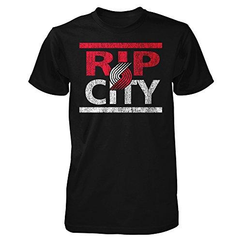 RIP City Portland Men's T Shirt (L) (City Blazer)
