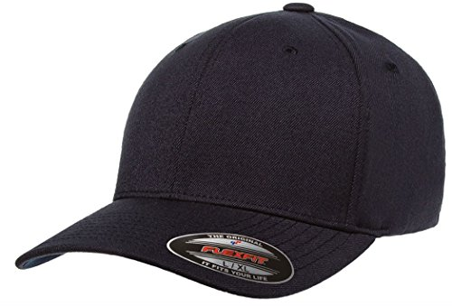 Navy Fitted Cap - 8