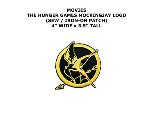 The Hunger Games Mockingjay Movie DIY Embroidered Sew or Iron-on Applique Patch Outlander (Diy Hunger Games)