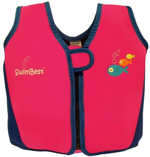 Swimbest Swim Jacket / Swim Vest - 16 mths-3 yrs - Pink/Royal Blue - up to...