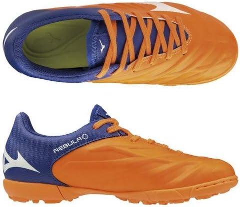 ジュニア レビュラ 2 V3 Jr. オレンジ×ホワイト×ブルー ターフシューズ