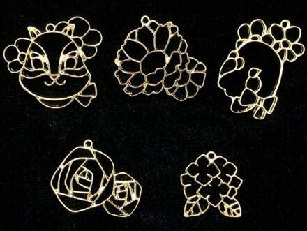 Amazon Com Dalab Kawaii Squirrel Flowers Charms For Resin Jewelry