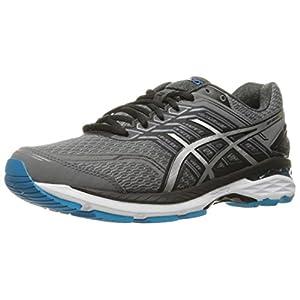 ASICS Men's GT-2000 5 Running Shoe, Carbon/Silver/Island Blue, 10 M US