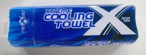 Real Cooling Towel Large Blue product image