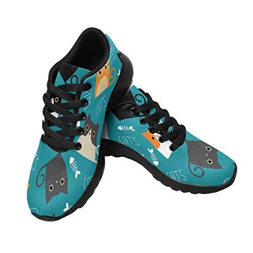 Multi Women's Running Sneakers Trainers Cross InterestPrint 11 aXwdPp