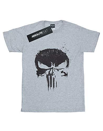 deportiva Punisher Marvel Tv Logo The Men gris Skull camiseta qSwEA8S