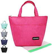 Dinorun Lunch Bag, Medium Insulated Lunch Box for Women Men Kids,Water-resistant Thermal Lunch Tote with Reusa