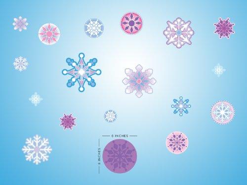 Sunny Decals Frozen Inspired Snowflake