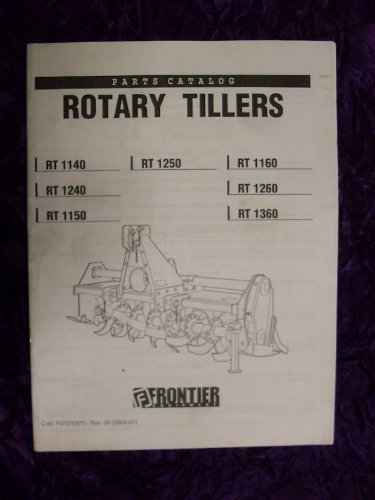 Frontier RT1140 RT1240 RT1150 RT1250 OEM Parts Manual