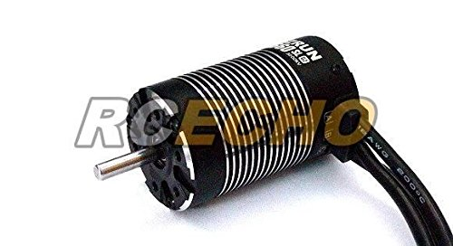 RCECHO® HOBBYWING EZRUN RC Model Black G2 3660SL 3200KV R/C Brushless Motor IM598 with 174; Full Version Apps Edition