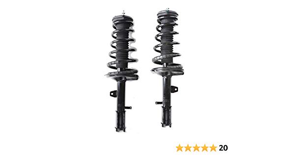 Carock Front Rear Struts /& Spring Assembly Compatible with 2001 2002 2003 Toyota Highlander AWD 3.0L