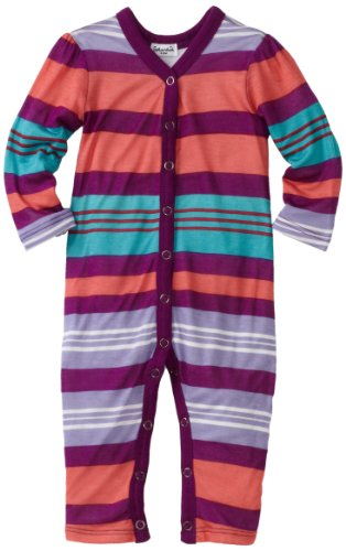 Splendid Littles Baby Girls' Beach Towel Stripe Bodysuit